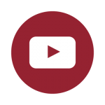 youtube social media icon